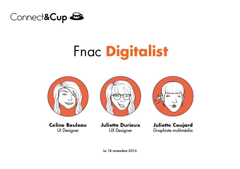 Première de couverture du projet Fnac Digitalist