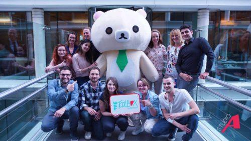 Equipe BNP Paribas - projet film Hello_Boxy